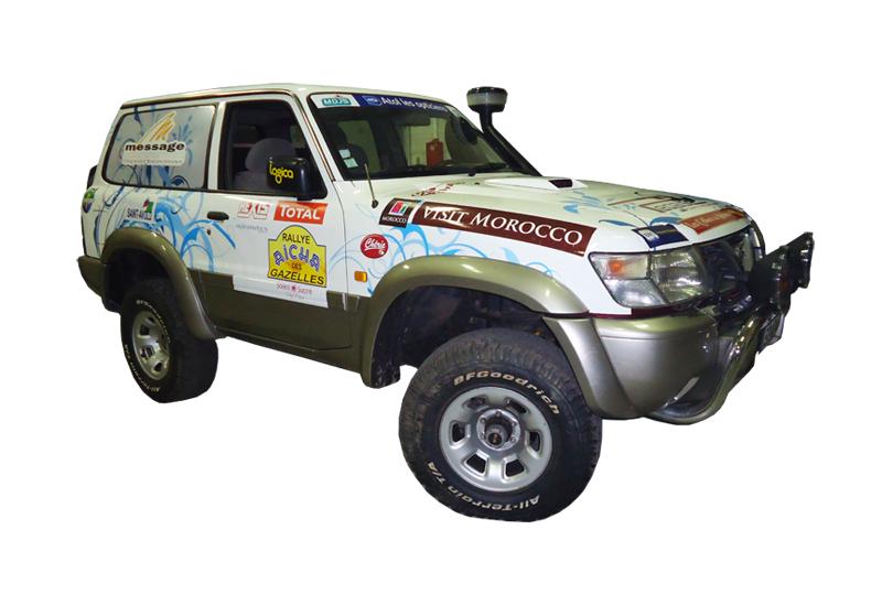 Impression covering 4×4 pour le Rallye Aïcha des Gazelles