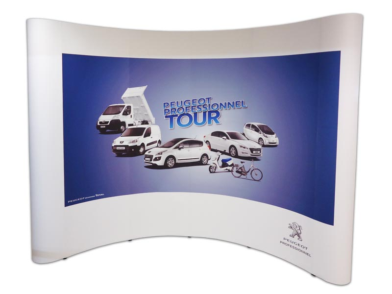 Stand Popup Peugeot