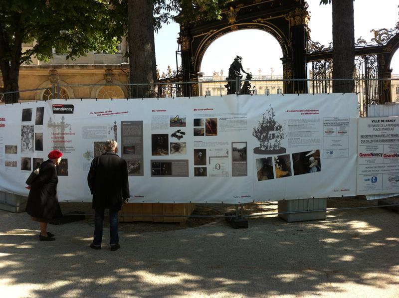 Bâche grand format à 2 pas de la Place Stanislas