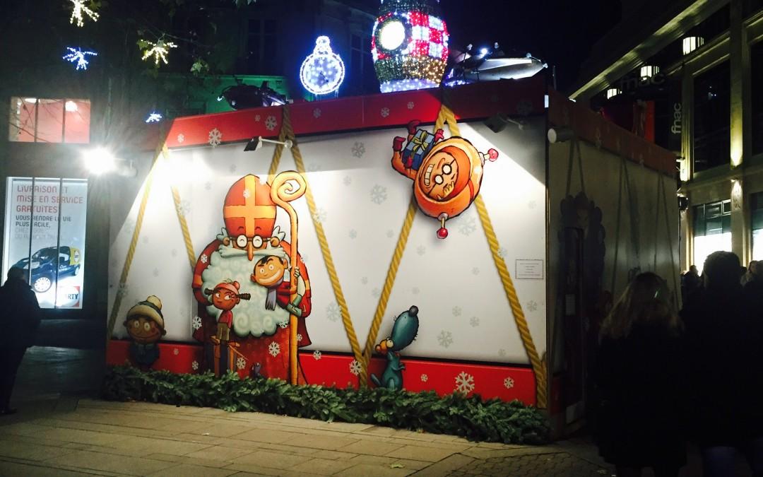 Signalétique pour le marché de Noël de Nancy