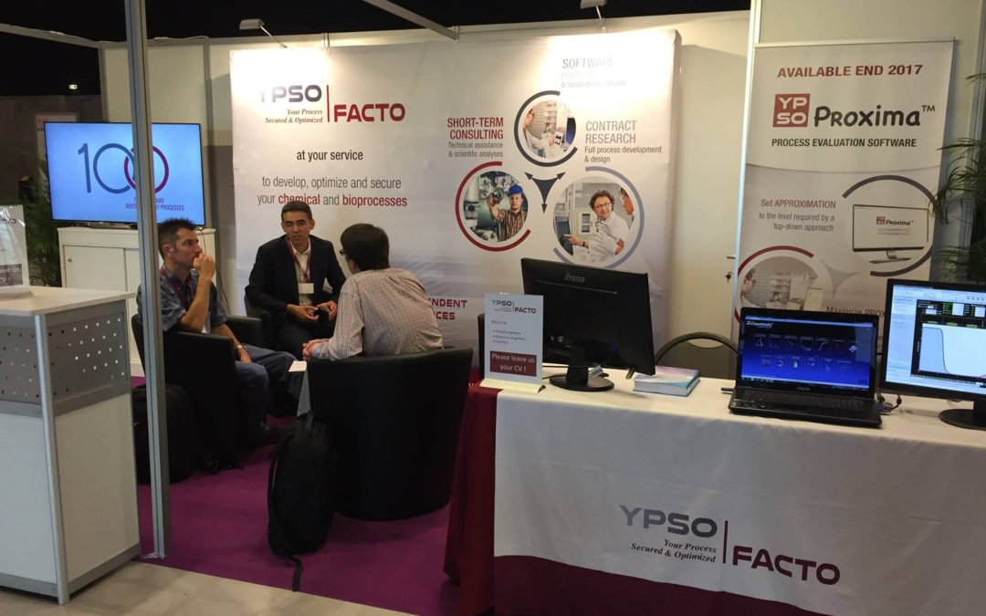 Conception d'un stand pour Ypso-Facto