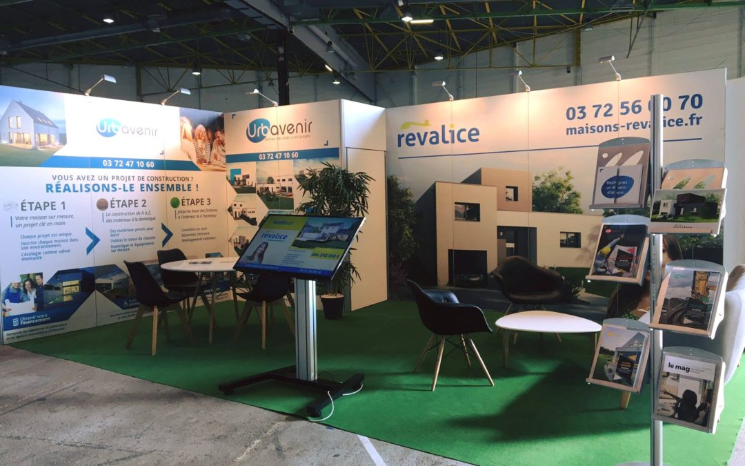 Conception d'un stand sur-mesure